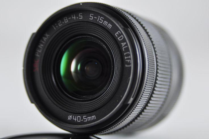 [Used] PENTAX 02 Standard Zoom 5-15mm F/2.8-4.5 ED Black Lens For Q-Mount
