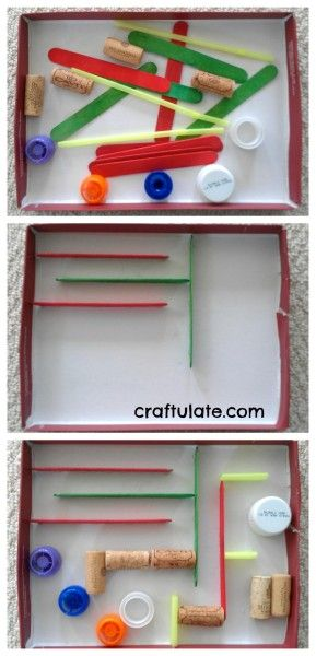 DIY Marble Run doubles as a Nano Maze!