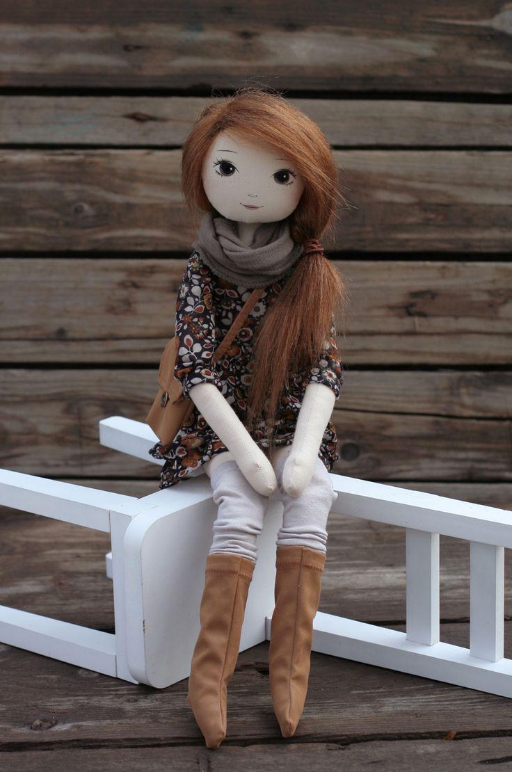 Plotta – roma z Rdzawej Kniei, handmade doll by romaszop