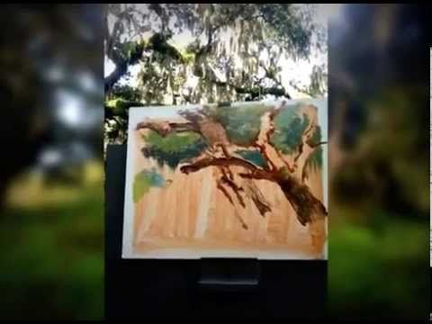 Plein Air Painting adventures with Keith Goodson