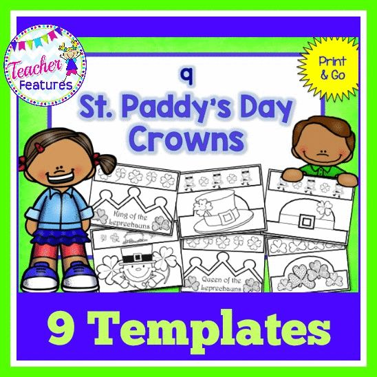 Crown Lesson Plan: 1581 Best St. Patrick's Day On TPT Images On Pinterest
