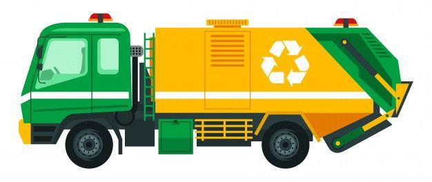 Camion De Basura Llevar La Basura A Reciclar Vector Premium Premium Vector Freepik Vector Coche Personas Ciudad Icono Camion De Basura Basura Reciclar
