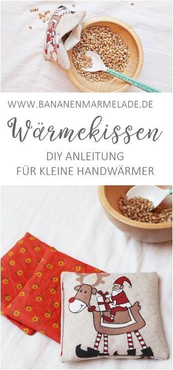Kleine Handwärmer selbernähen. Schnelles DIY Geschenk, nicht nur zu Weihnachte…
