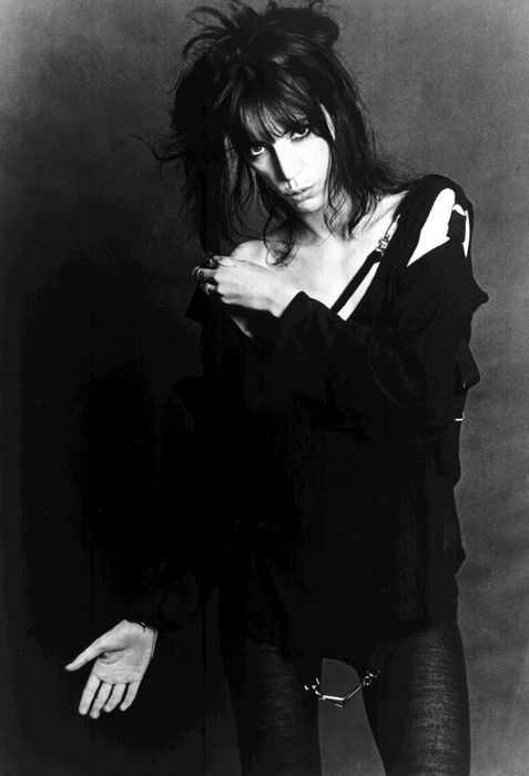 Patti Smith all dolled up (@Valerie Borchardt)