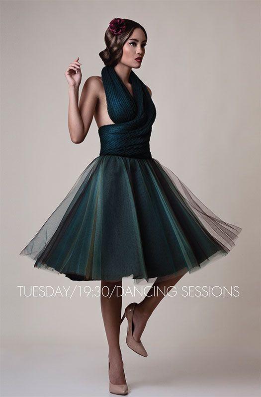 Full mood, full skirt...