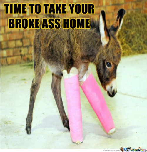Broke Ass Meme | Slapcaption.com