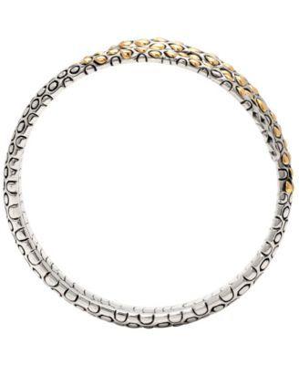 DEVATA Legend of Snake Signature Sterling Silver Bangle