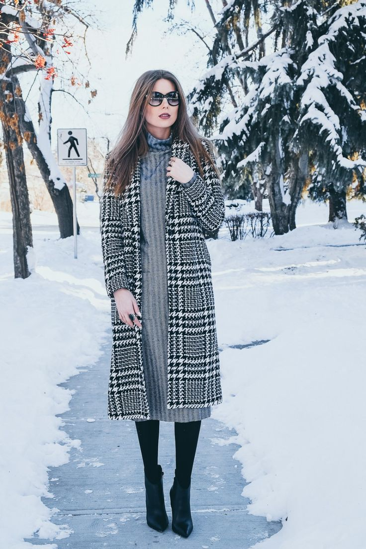 WINTER OUTFITS to keep you warm & stylish | WARDROBE DETECTIVES maxi coat, midi dress, winter dress, winter style, business style