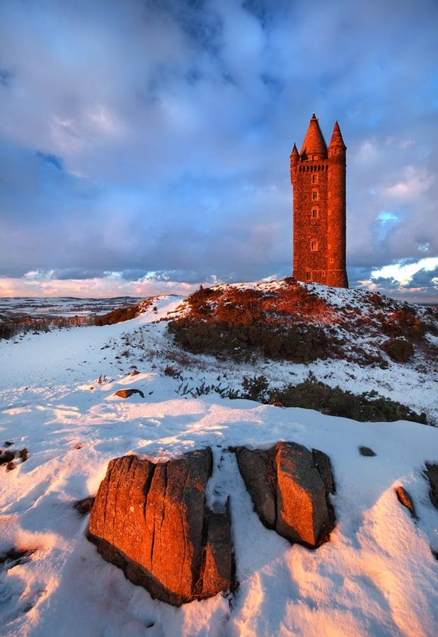 Scrabo Tower is one of Northern Ireland's best known landmarks.