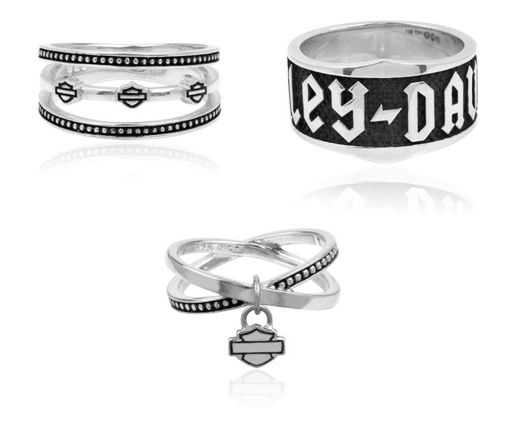 Harley Davidson Jewelry | Harley-Davidson Rings by MOD Jewelry | General Valentine