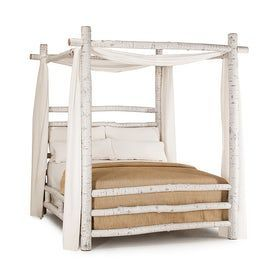 Rustic Canopy Bed #4092 La Lune Collection