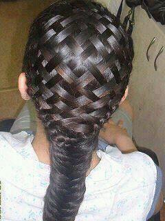 basket weaved hair braid: Baskets Weaving, Idea, Hairstyles, Basketweav, Stuff, Makeup, Beautiful, Weaving Braids, Hair Style