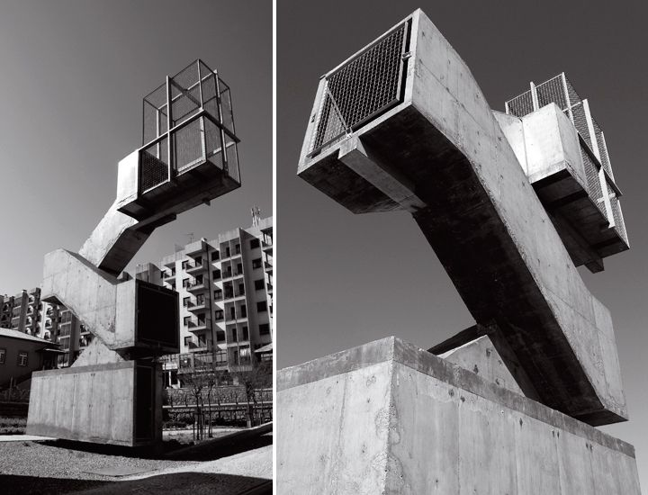 Bureau des Mésarchitectures, Didier Fiuza Faustino, Stairway to Heaven (2001), Castelo Branco, Portugal