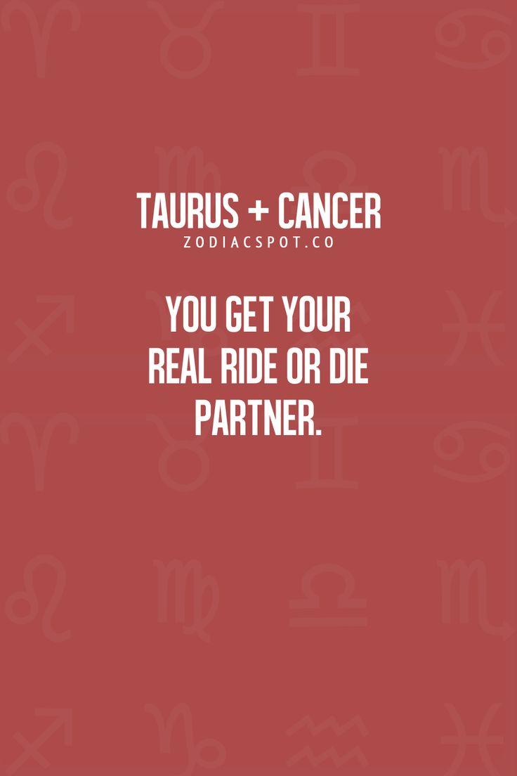 Taurus + Cancer Zodiac Sign ♋