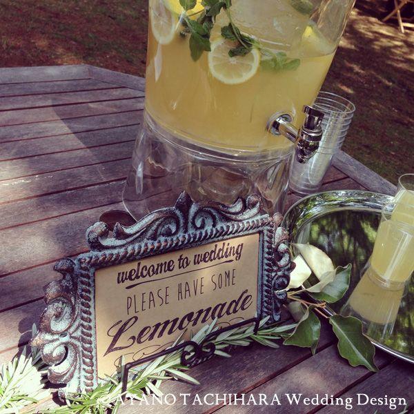 Wedding_Lemonadekaruizawa garden Wedding_ハワイウエディング_produced by AYANO TACHIHARA Wedding Design 軽井沢ガーデンウエディング、邸宅ウエディング