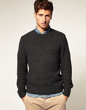 Love This Charcoal Grey Sweater Mens Fashion Lifestyle Mens