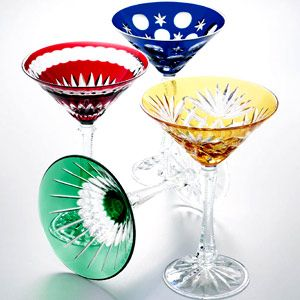 Faberge Crystal Glasses