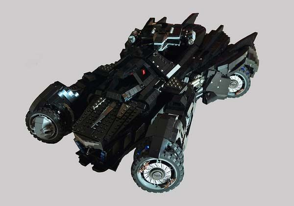 Batman Arkham Knight Batmobile LEGO Set