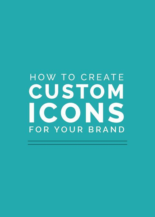 How to Create Custom Icons for Your Brand - Elle & Company // Awesome Webinar!
