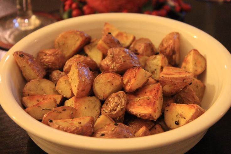 Rosemary And Garlic Roasted Potatoes Recipe — Dishmaps