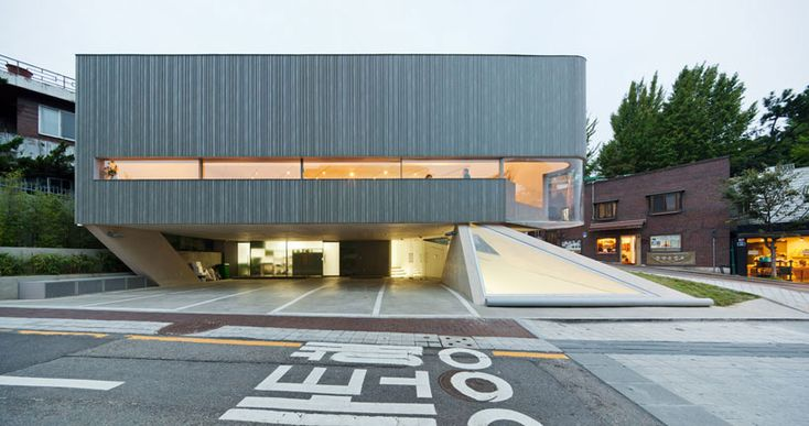 Songwon Art Space in Seoul, Korea | design by Mass Studies
