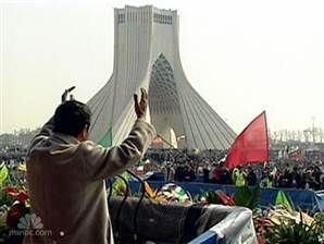 2/11/2010 IRAN: The Iranian security forces unleash a crushing sweep against opposition protesters on as President Mahmoud Ahmadinejad use the 31st anniversary of the Islamic revolution to defy the West.