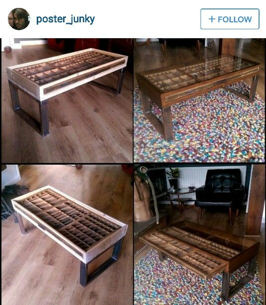 Letterpress Tray Coffee Table: 25+ Best Ideas About Printer Tray On Pinterest