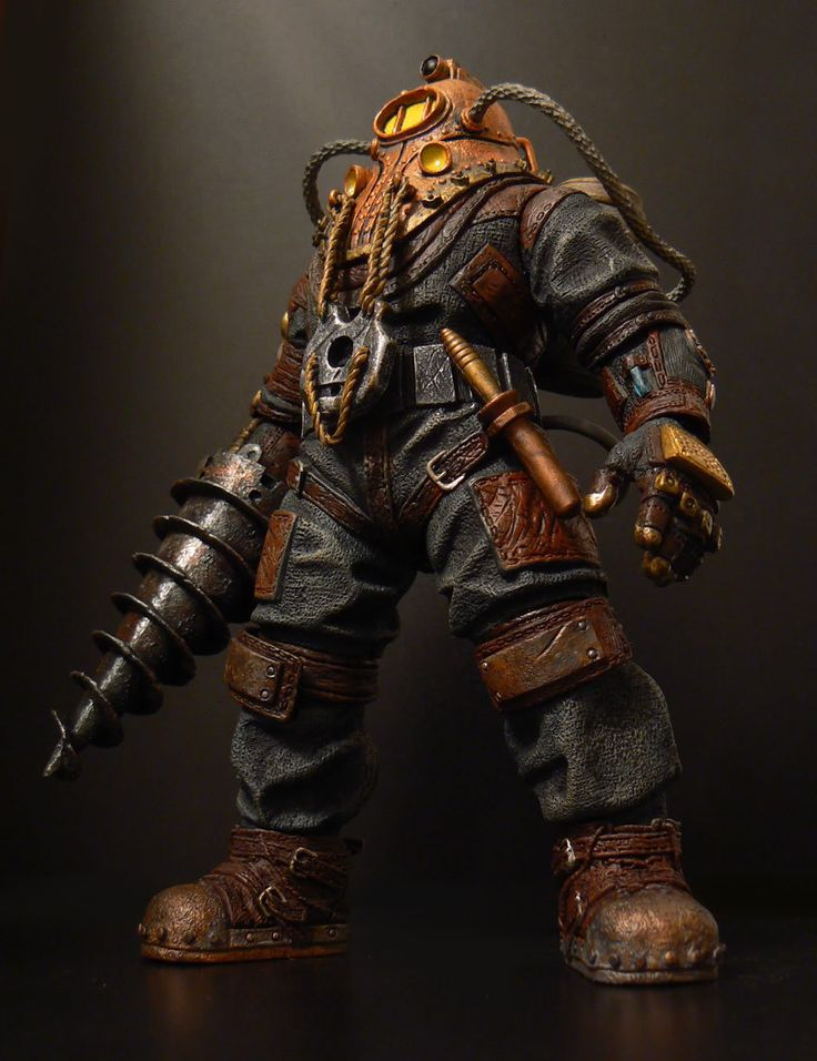 Pictures Of Nuts And Bolts >> Subject Delta Big Daddy (Bioshock) - Toy Discussion at Toyark.com | Bolts & nuts | Pinterest | Arte
