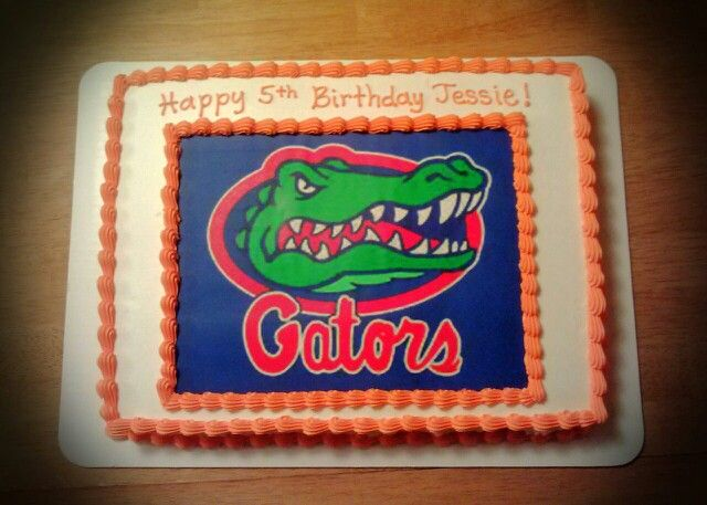 Florida Gators Birthday Cake Decorations