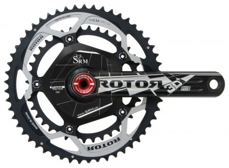 SRM PowerMeter Rotor 3D + crank