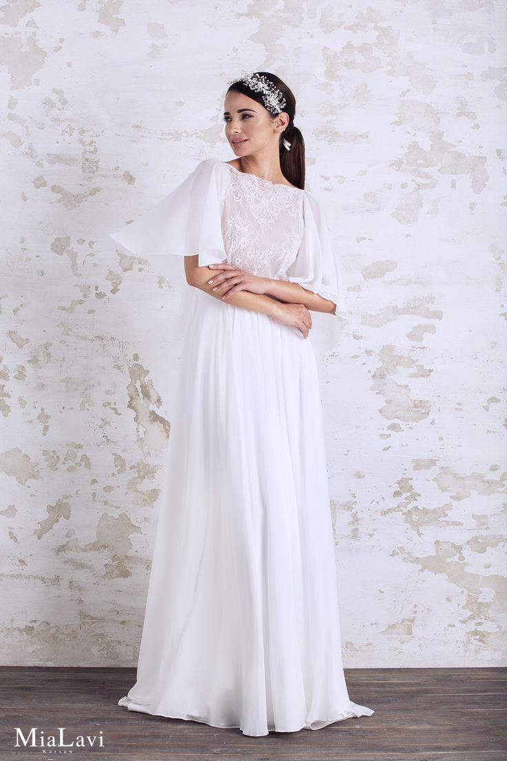 Romantic wedding dress 1716, Mia Lavi 2017