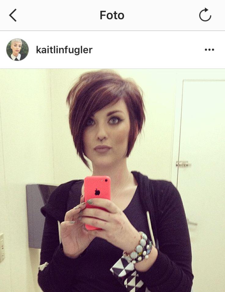 Asymétrique Cute n & 39; Facile à coiffer