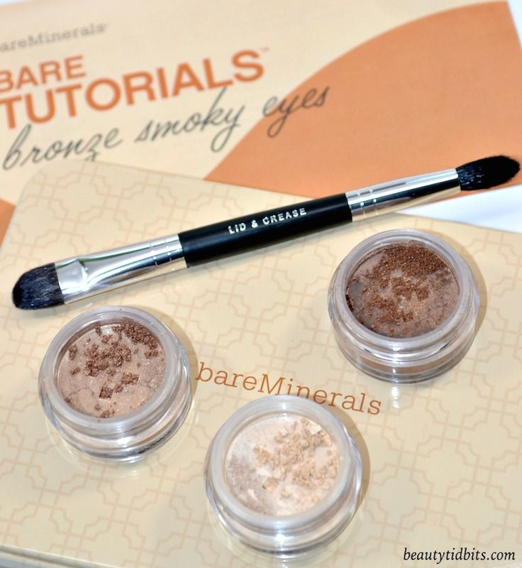 bareMinerals Bare Tutorials Bronze Smoky Eyes kit