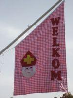 Welkom Sinterklaasje! Laat zien dat Sint welkom is, maak je eigen Sint vlag.