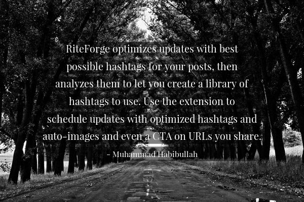 5 Hashtag Tracking Tools for Twitter, Facebook and Beyond- Muhammad Habibullah rite.ly/jnr1