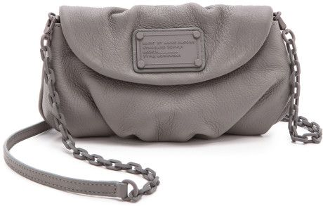 Marc By Marc Jacobs Electro Q Karlie Bag  Black in Gray (Cylinder Grey) - Lyst