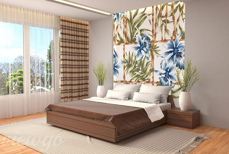 Aranżacja Fototapety Orientalna florystyka