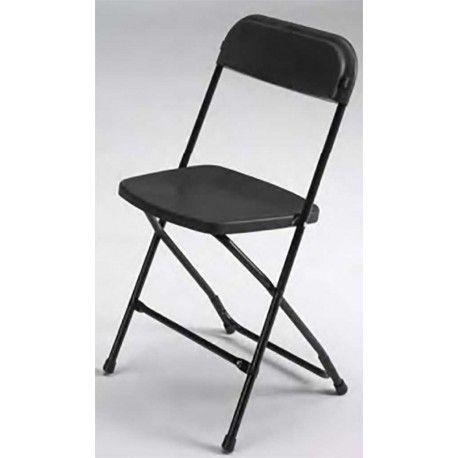 Práctico conjunto de cuatro Sillas Plegables fabricadas en PVC de alta calidad en colores negro, blanco o gris. Estás sillas las puedes tener detrás de una puerta para que no te ocupe mucho sitio y poderlas sacar cuando tengas invitados.