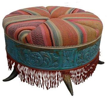Ottomans - contemporary - ottomans and cubes - phoenix - RusticSinks.com