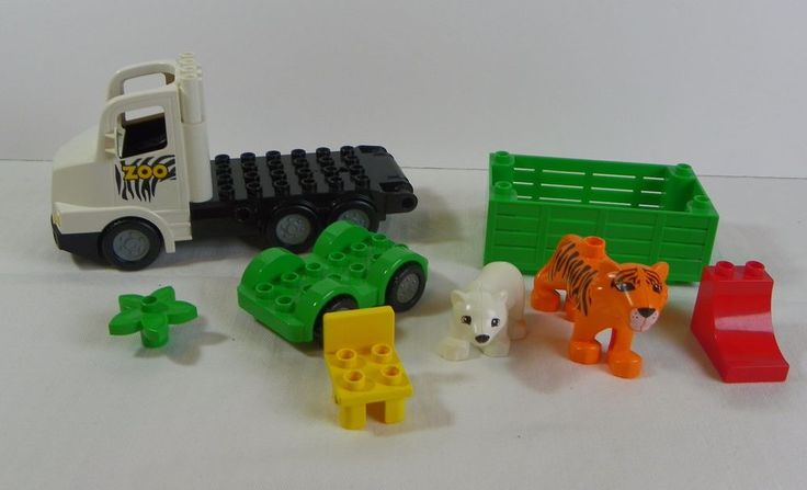 LEGO Duplo Zoo Truck With Cheetah, Polar Bear and Extras #LEGO
