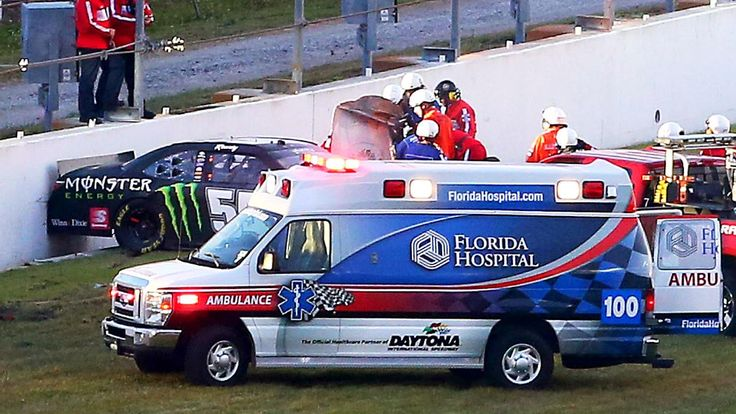 Kyle Busch to miss Daytona 500 after injury in Xfinity race crash 02/21/2015