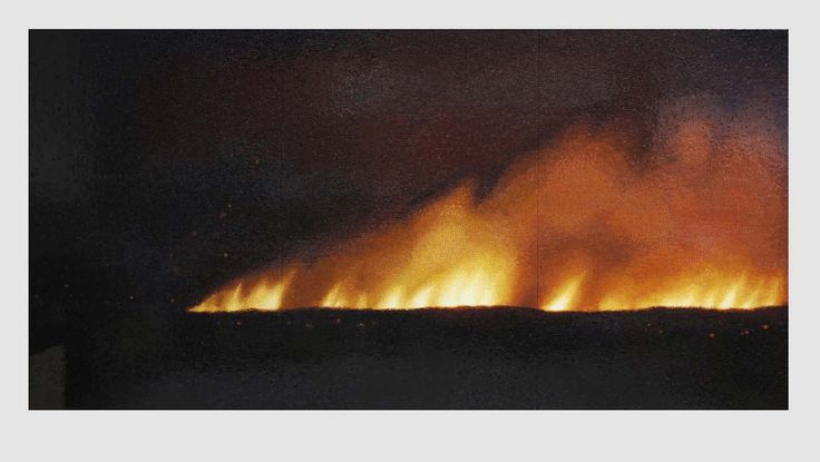 Teresita Fernández's Prophetic Mosaics in 'Fire (America)'