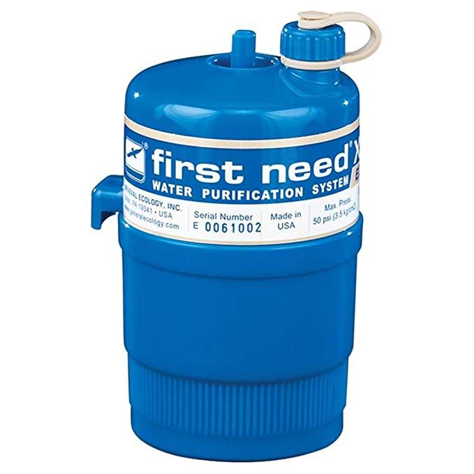General Ecology First Need Extra Large Elite Canister 302220 Review Hiking Water Bottle Camping Water Filter Water Purification System