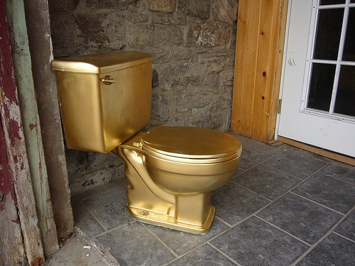 toilet made of gold. Each guest at the wedding will have their own personal toilet  Made out of SOLID 71 best Gold Riches images on Pinterest rush gold and