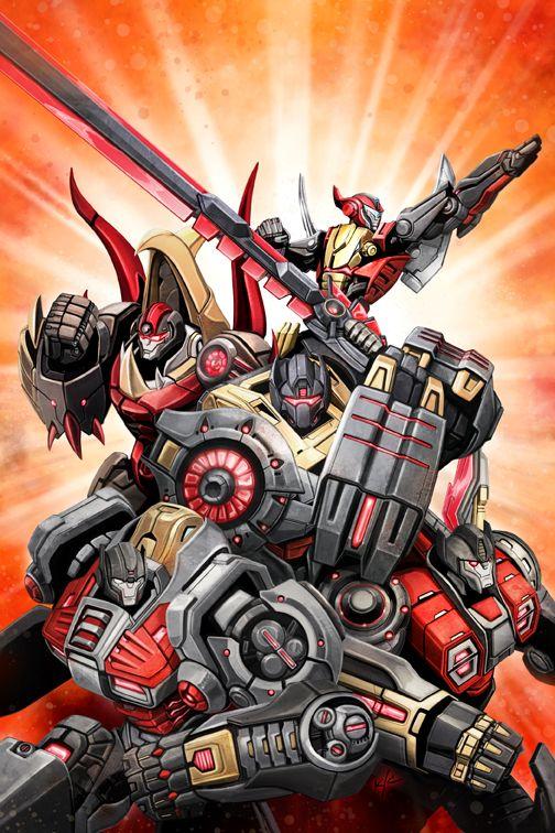 Transformers Prime - Rage of the Dinobots #1 by Ken Christiansen