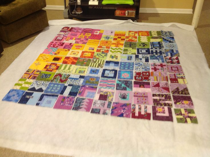 All 100 blocks!  Yeah now to quilt.