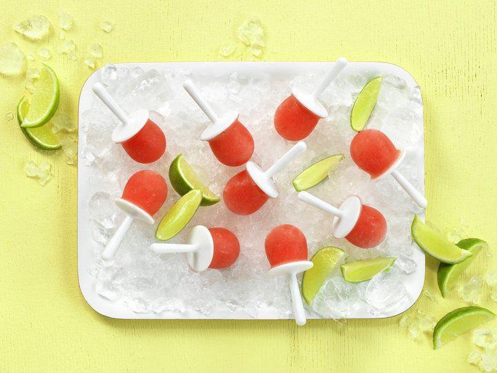 Sorbet av vannmelon og lime