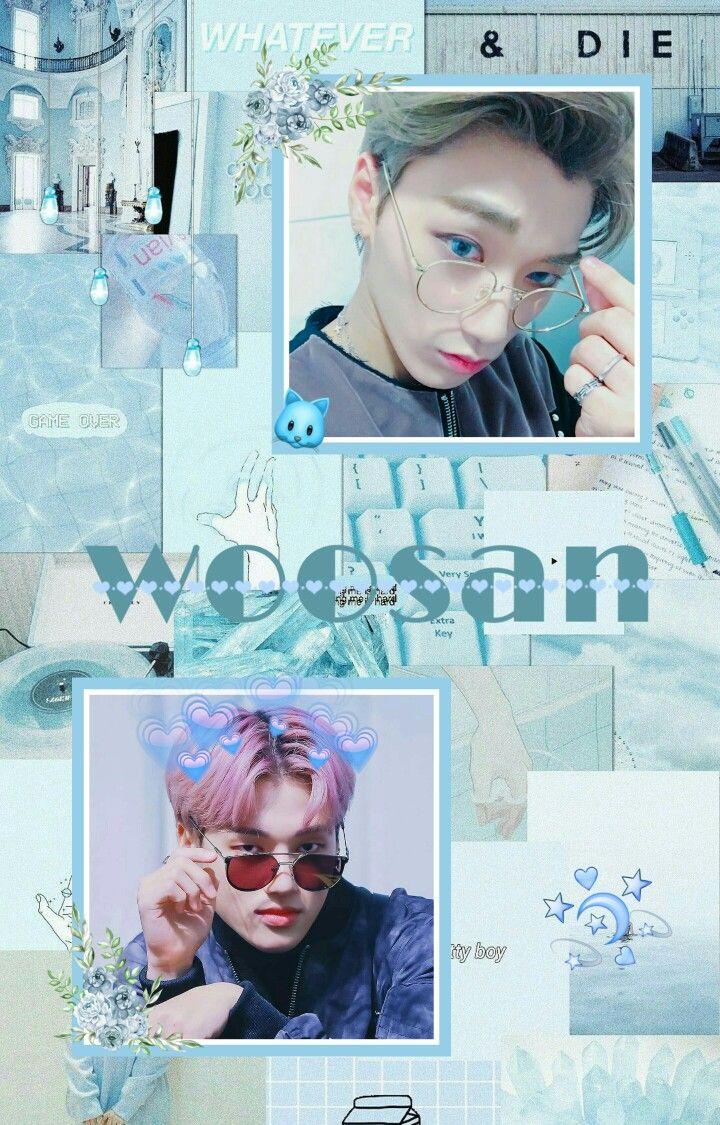 Ateez Woosan In 2019 Kpop Backgrounds Kpop Fanart