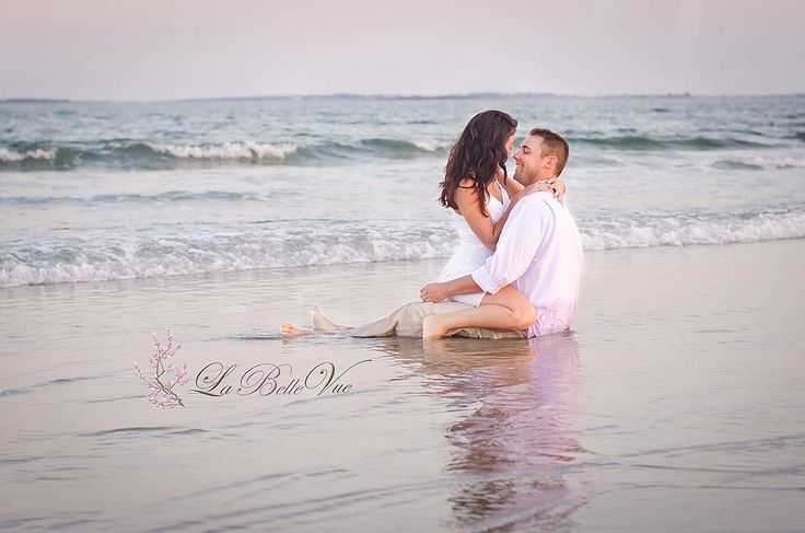 Beach engagement picture...maybe the last picture