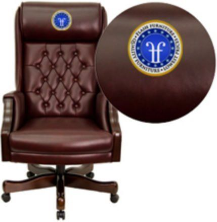 Tufted Leather Executive Office Chair